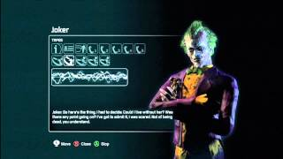 Batman: Arkham City - Audio Tapes: Joker