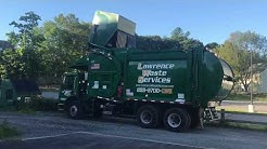 Lawrence Waste Services FL-3 & FL-4 ~ Mack MRU McNeilus Front Loaders
