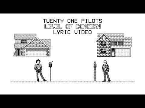 twenty one pilots - Level of Concern (lyric video)