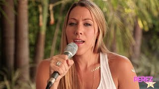 "Colbie Caillat - ""Never Gonna Let You Down"" (Acoustic Perez Hilton Performance)"