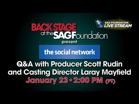 Conversations with Producer and Casting Director of THE SOCIAL NETWORK