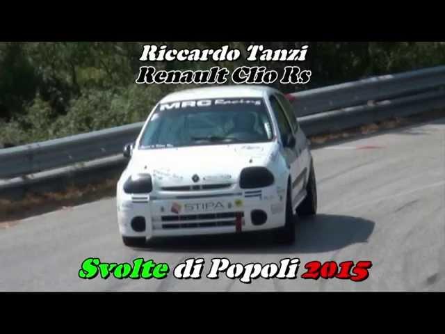 SVOLTE DI POPOLI 2015 RICCARDO TANZI RENAULT CLIO RS