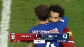 Liverpool vs Chelsea 1 1   All Goals   Extended Highlights   25 11 2017 HD