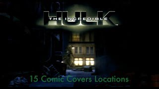 15 Comic Covers Locations - The Incredible Hulk 100% Walkthrough (Xbox 360, PS2, PS3, PC)