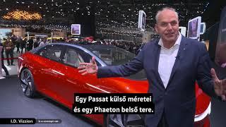 Jürgen Stackmann és a Volkswagen újdonságai a Genfi Autószalonról