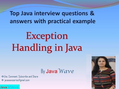 Exception Handling In Java. Checked and Unchecked Exception. Custom Exception Class in java