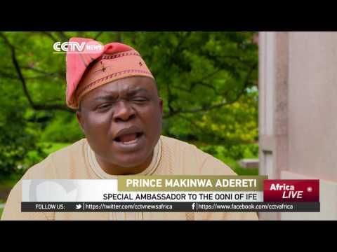 Yoruba king visits Washington to promote local culture