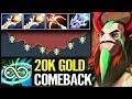 Best 7.21Dota 2 [Nature's Prophet] x2 Divine ComeBack - MinD_ContRoL