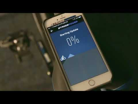 Stages Indoor Cycling Service How To Update Power Meter Firmware Using the StagesPower App SD