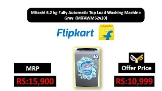 Mitashi 6.2 kg Fully Automatic Top Load Washing Machine Grey (MiFAWM62v20)