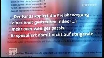 30 Report Mainz-  Hunger Macher die Volksbanken Sparkassen mit ihren Nahrungsmittel Wetten