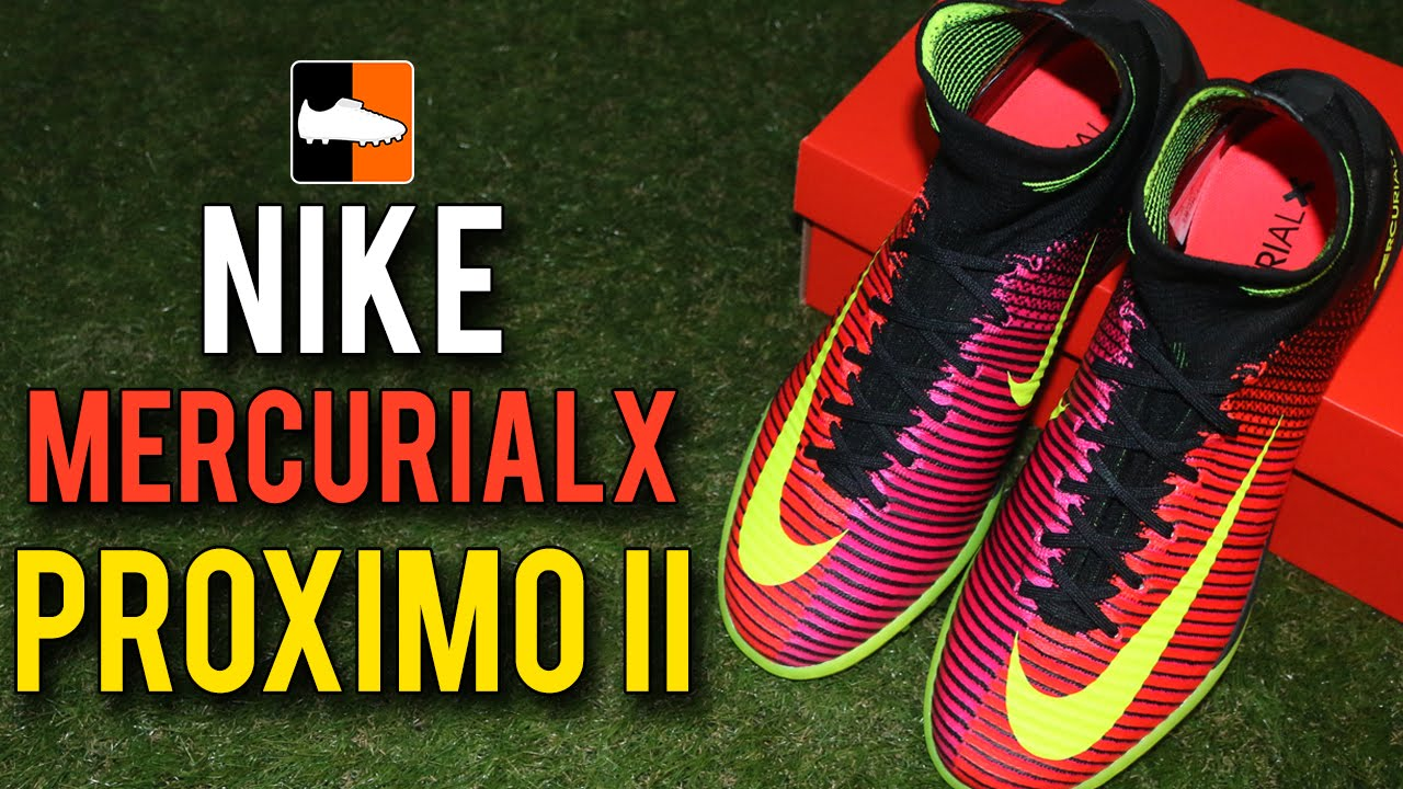 MercurialX Proximo Play Test, Unboxing & Comparison   Nike Spark ...