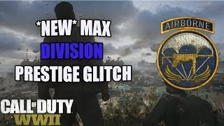 *NEW* COD WW2 INSTANT MASTER PRESTIGE GLITCH WITH ANY DIVISIONS