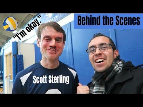 Scott Sterling Volleyball Blocks | BEHIND THE SCENES | Studio C