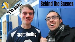 Scott Sterling Volleyball Blocks | BEHIND THE SCENES | Studio C