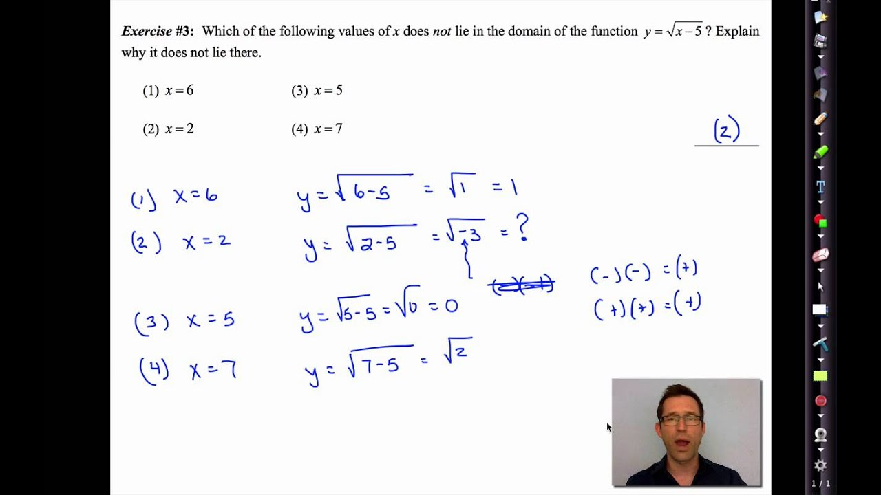 Solving square root equations common core algebra 2 homework answers