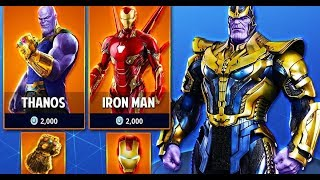 🔴The New Avengers Endgame SKINS! Fortnite Battle Royale🔴