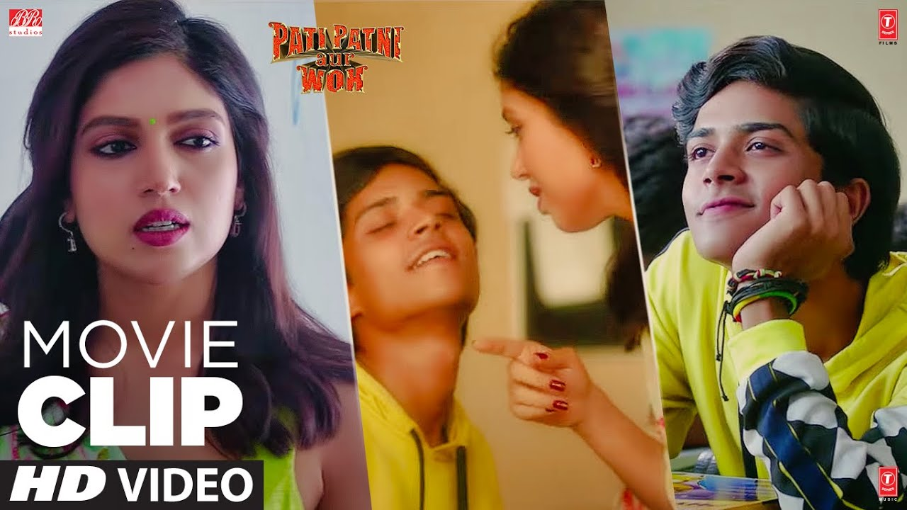 Kya Dekh Rhe The? | Movie Clip | Pati Patni Aur Woh | Kartik Aaryan, Bhumi Pednekar, Ananya Panday
