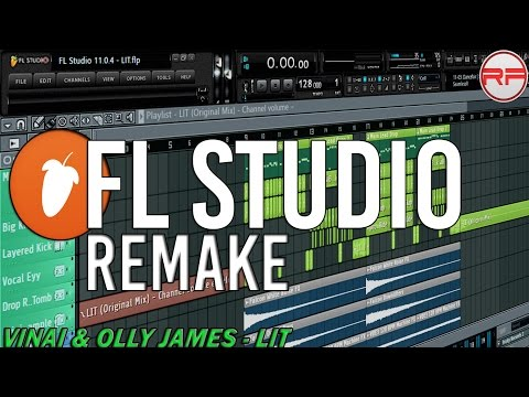 VINAI & Olly James - LIT|FLS Remake by Ryo Falcon and Firedrop (FLP + Download)