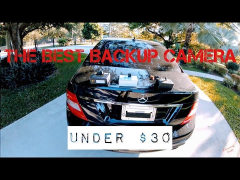 Best $30 Backup Camera of 2017!