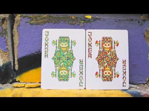 Bloodlines Playing Cards by Riffle Shuffle