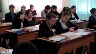 Касымов О. Т. Видеофрагменты открытого урока истории