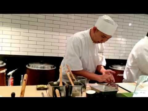Chef Nakazawa in Slow Motion