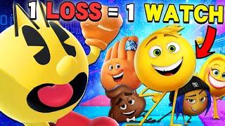 Every Time I Lose I Watch The Emoji Movie