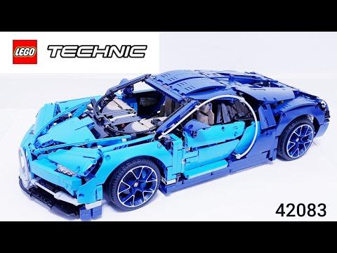 레고 부가티 시론 리뷰 Lego 42083 Bugatti Chiron Review