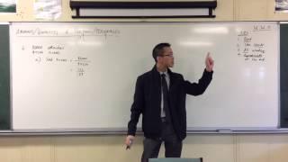 Percentages & Quantities (2 of 3: Ticket Example)
