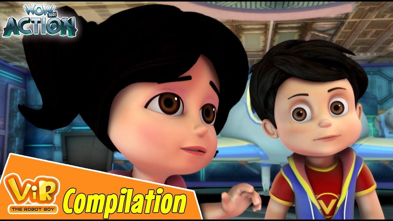 Best Episodes Of Vir The Robot Boy | Cartoon For Kids | Compilation 82 | Wow Kidz Action