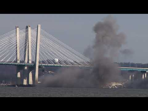 A.J. - The Old Tappen Zee Bridge Over The Hudson Is Demolished!
