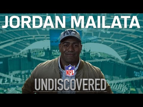Jordan Mailata's Journey From Australian Rugby Star to Eagles Draft Pick | Undiscovered | NFL