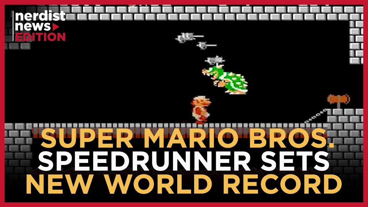 This Gamer Beat 'Super Mario Bros ' In A World Record Time