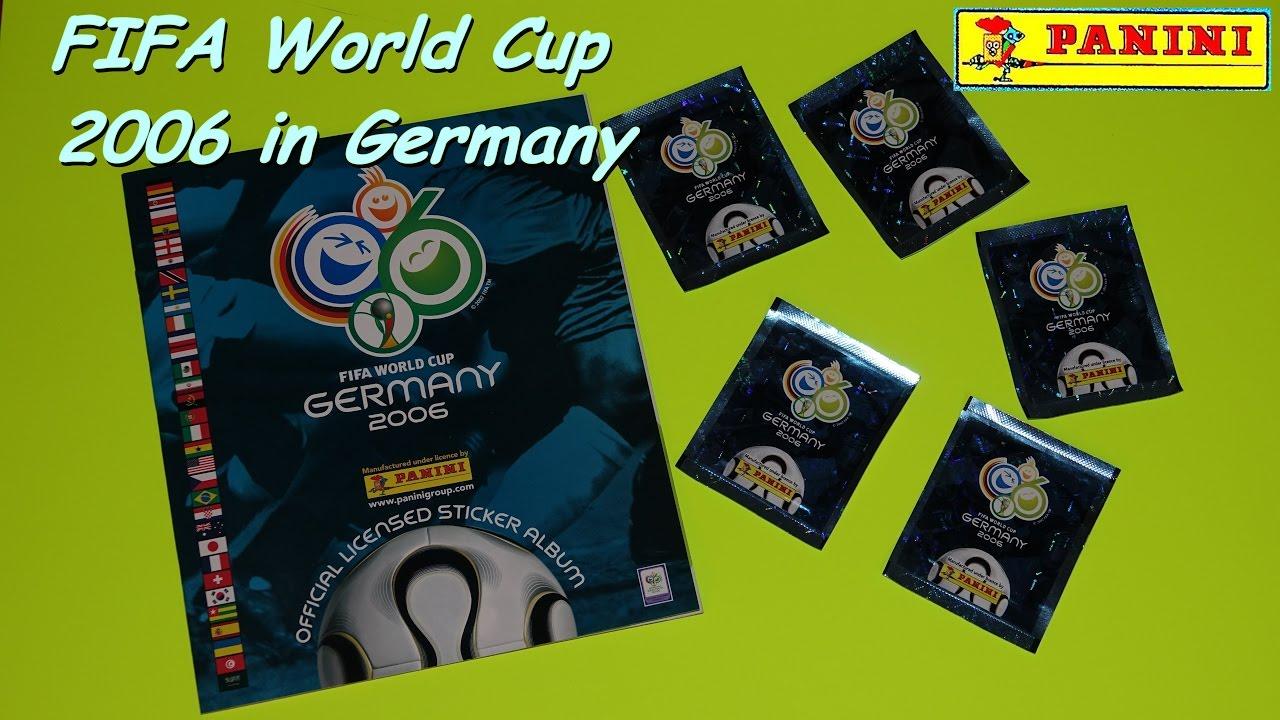 PANINI FIFA WORLD CUP GERMANY 2006 WM WC 06 1//20//50//100 Stickers CHOISIR Choose