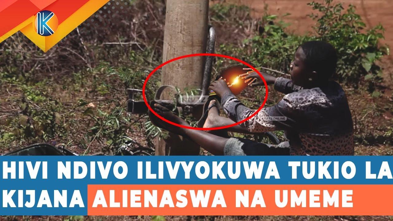 Download HIVI NDIVO ILIVYOKUWA TUKIO LA KIJANA ALIENASWA NA UMEME