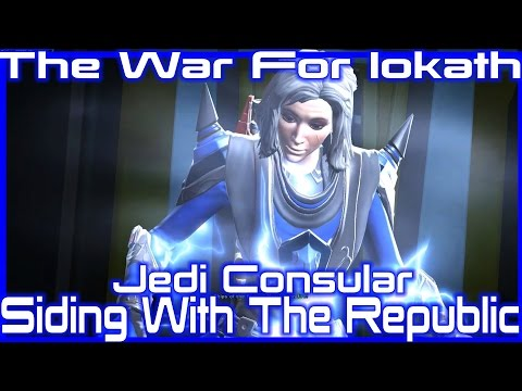 SWTOR - The War For Iokath - Siding With The Galactic Republic,Jedi Consular [Lightside]