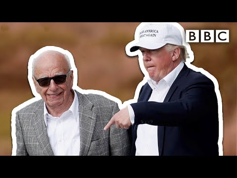 Donald Trump and Rupert Murdoch: How his comeback changed world politics - BBC