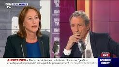 Ségolène Royal était l'invitée de Jean-Jacques Bourdin, sur RMC et BFMTV, ce mercredi 10 juin