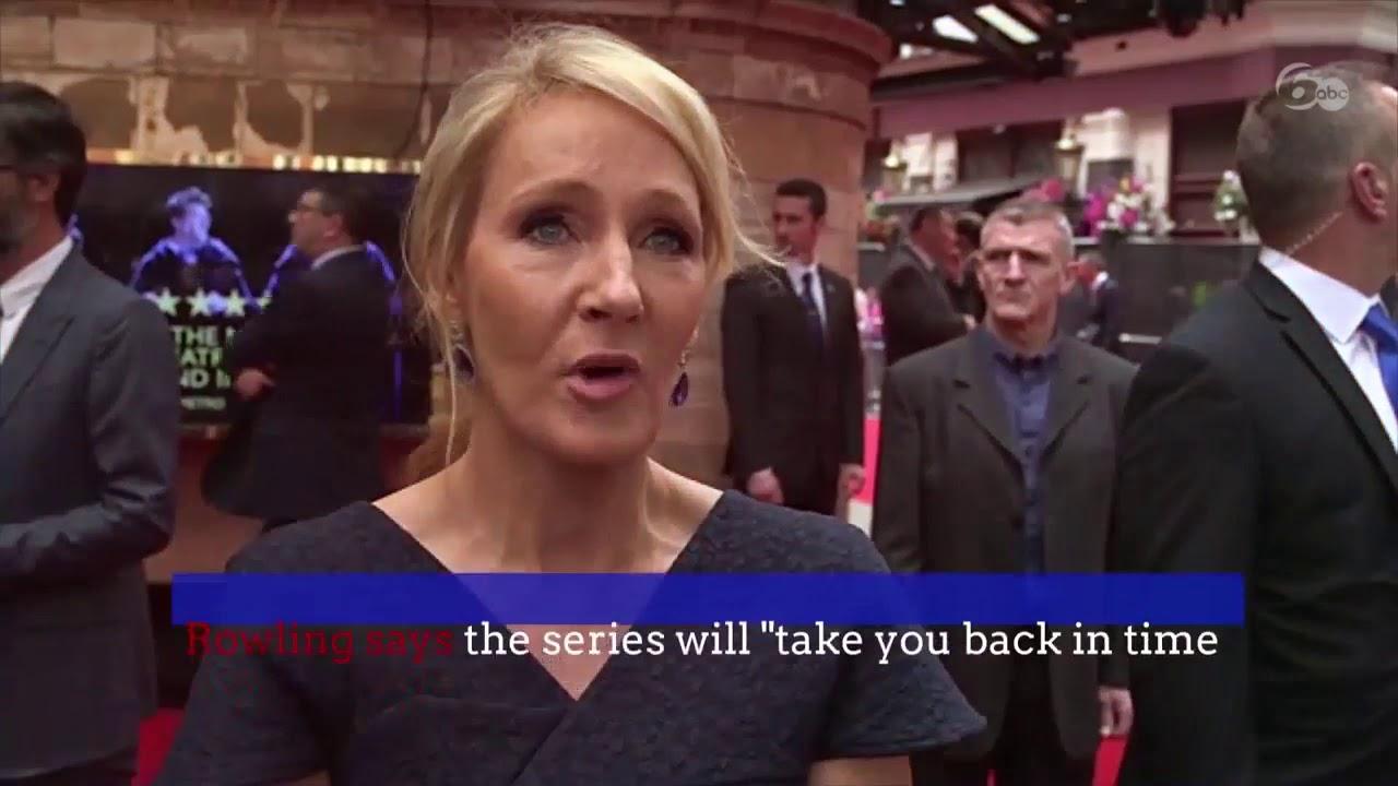 J K  Rowling is releasing 4 new 'Harry Potter' stories