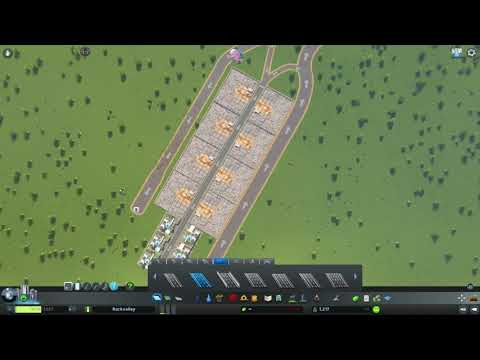 Multiple Landfills Together in Cities Skylines. Efficient or Not?