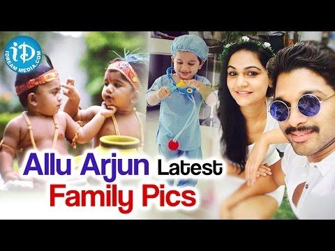 Allu Arjun's Latest Cute Family Pictures