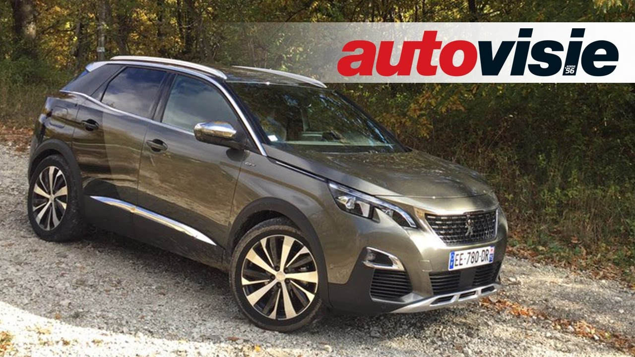 review peugeot 3008 2016 by autovisie tv youtube. Black Bedroom Furniture Sets. Home Design Ideas