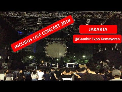 Incubus Live Concert 2018 in JAKARTA