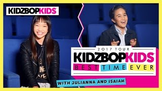 Best Time Ever with Julianna & Isaiah from The KIDZ BOP Kids