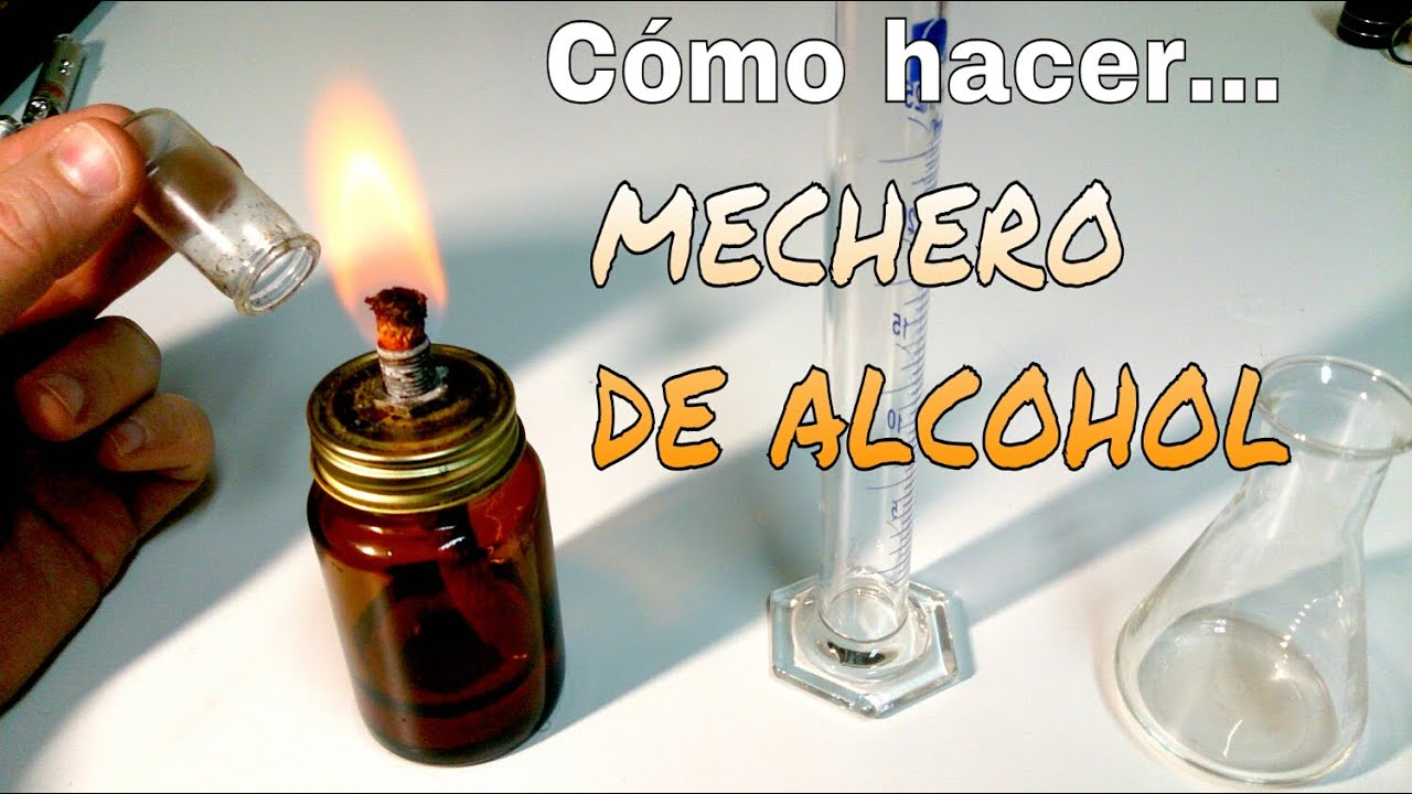 mechero de alcohol laboratorio de quimica
