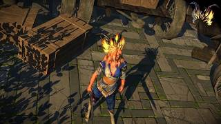 Path of Exile: Sin and Innocence Helmet Attachment
