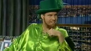 Will Ferrell Interview as Sexy Leprechaun - 10/4/2001