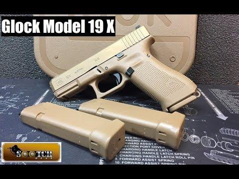 New Glock Model G19X Pistol Review