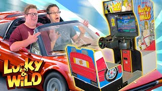 Wildest Arcade You've Never Played - Lucky & Wild - Cinemassacre Review